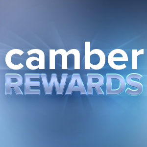 Camber Rewards; Free Equipment Event logo